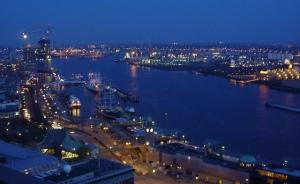 Hamburg Blue Hour